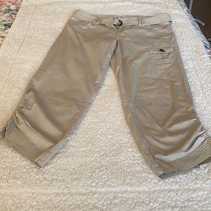 Guess Reagan Linen Capri Pants